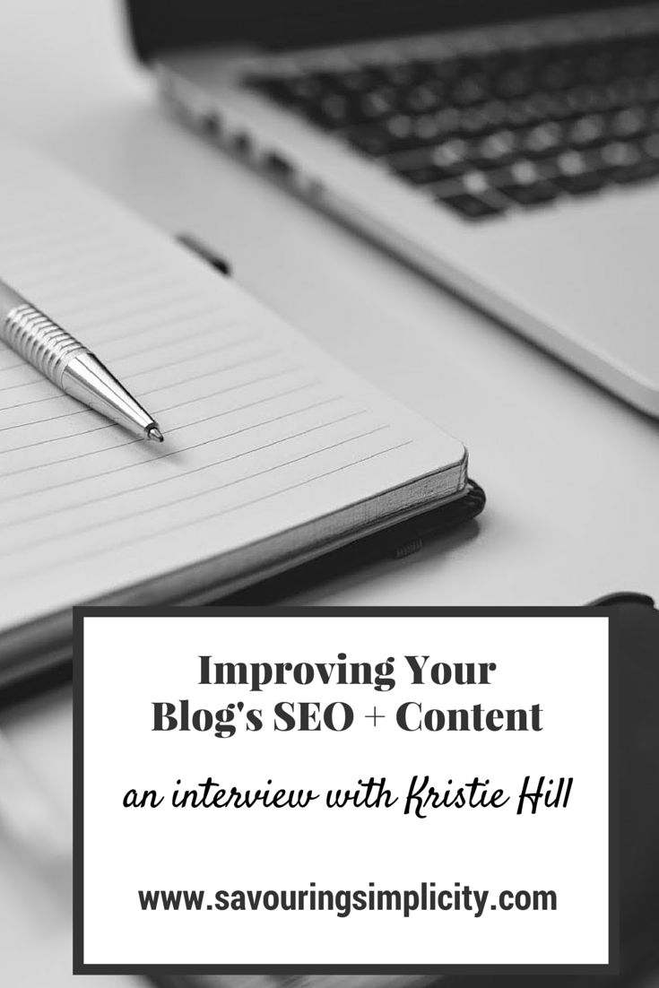 Kristie Hill on Improving Your Blog's Content and SEO