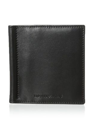 49% OFF Emporio Armani Men's Clip Bi-Fold Wallet (Black)