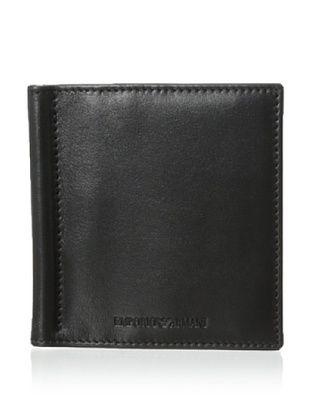 49% OFF Emporio Armani Men's Clip Bi-Fold Wallet (Black)