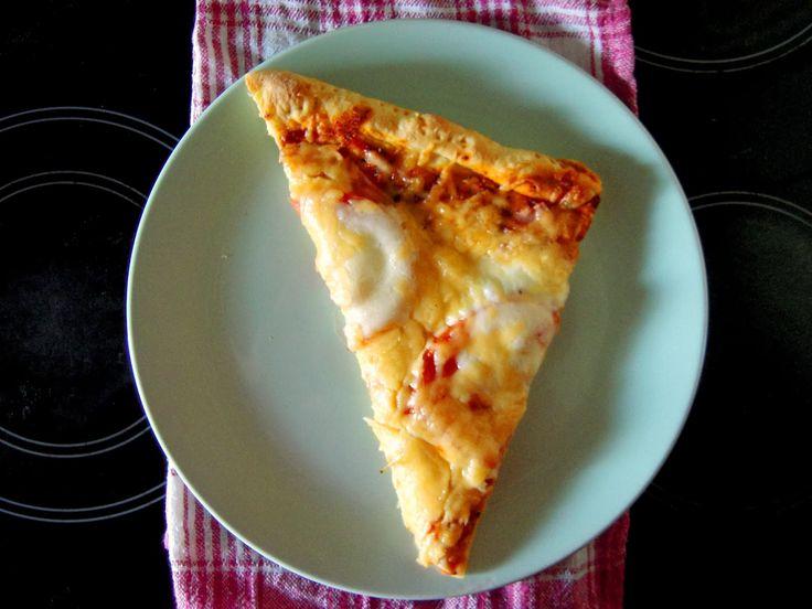 Ugotowana Ania: Pizza na mące kukurydzianej z podwójnym serem