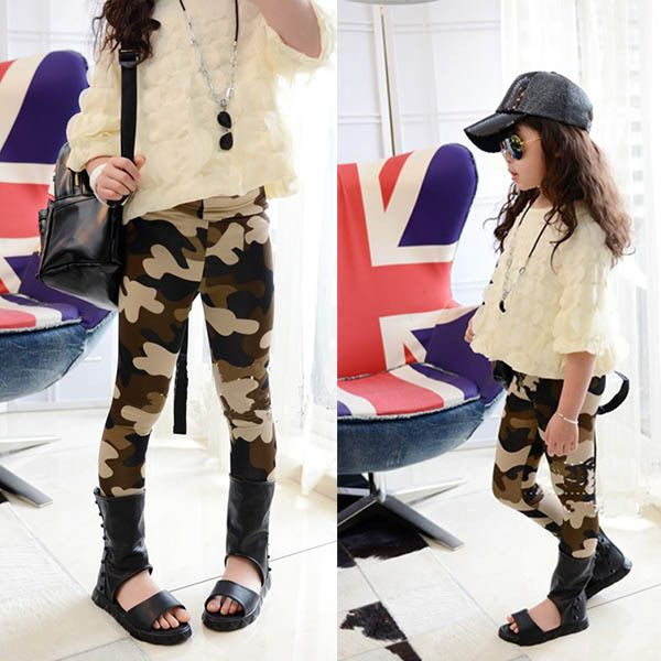 kids camo leggings super soft