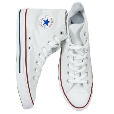 converse all star white high top