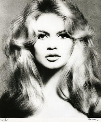 Brigitte Bardot, hair by Alexandre, Paris, January 27