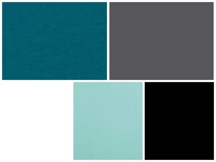 Our Theme!! Turquoise for the bride side and Grey for the groom side. And all 5 combination for our deco etc...