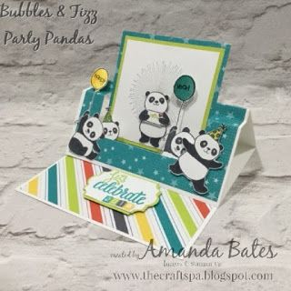 The Craft Spa - Stampin' Up! UK independent demonstrator : Hap-Panda New Year to you!