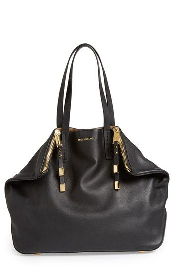 Michael Kors 'Large Miranda' Leather Shopper available at #Nordstrom yup i need this bag