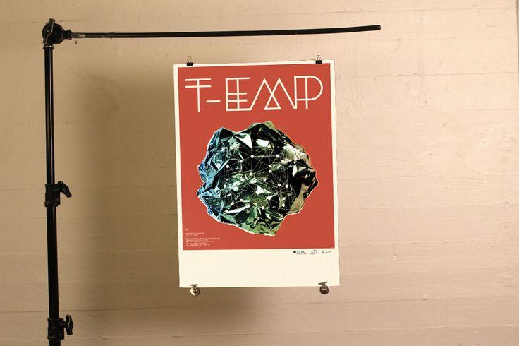T-Emp - gigposter  - Klipp og Lim