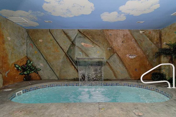 11 best dream cabins images on pinterest log homes log - Log cabins with indoor swimming pools ...