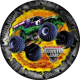 "Monster Jam Grave Digger 9"" Lunch Plates (8 Pack)"