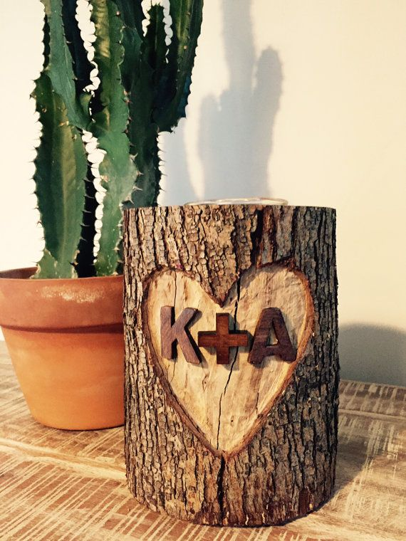 Wedding gift Handcarved & personalized wood by SweetTandQueenB