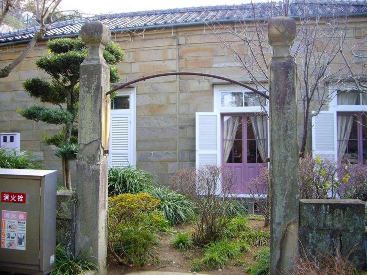 グラバー園に移されたフリーメーソン・ロッジの石柱? - Tomotubby's Travel Blog