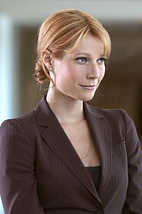 "Gwyneth Paltrow as Pepper Potts, Tony Stark's ""right hand"" in the comics and movies so far. I've not been very happy with her portrayal in the movies so far. She always seemed more capable in the comics."