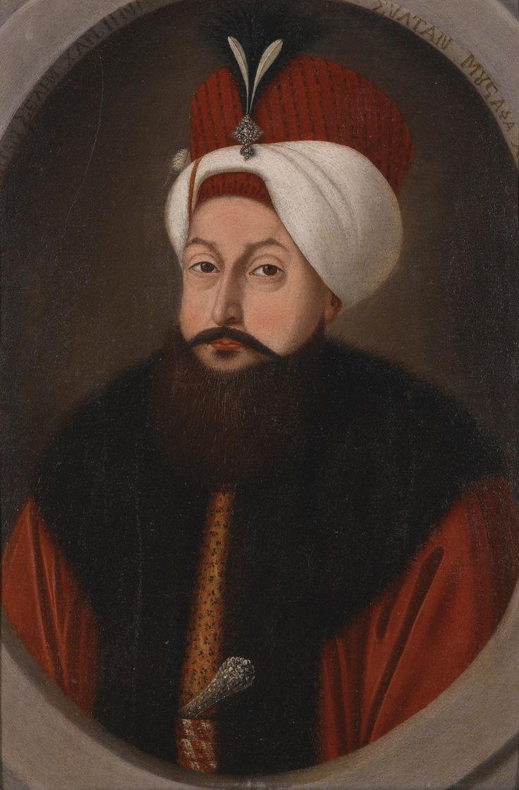 Kostantin Kapidagli  Portrait Of Sultan Selim III