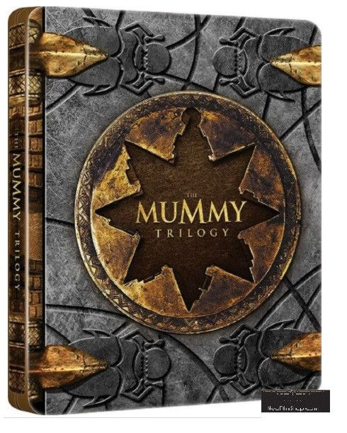 The Mummy Trilogy 盜墓迷城 1-3 集 (1999-2008) (Blu Ray) (Steelbook) (English Subtitled) (Hong Kong Version)