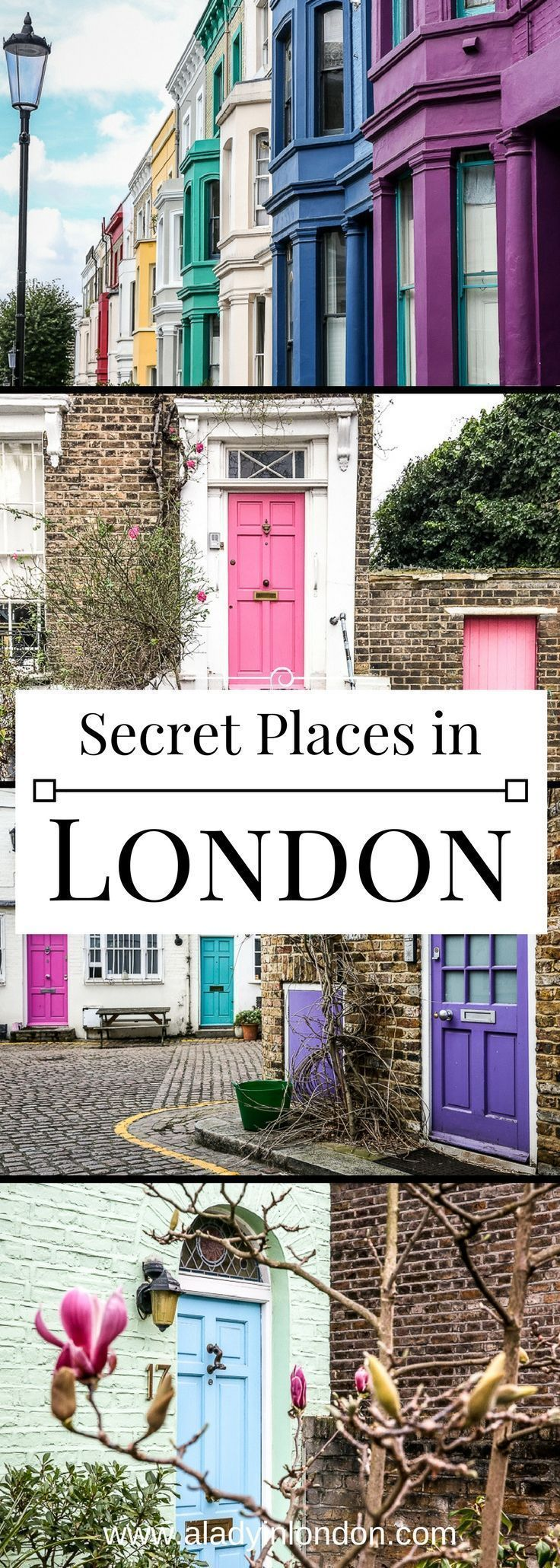 7 secret places in London you have to discover. From quiet mews to hidden garden…