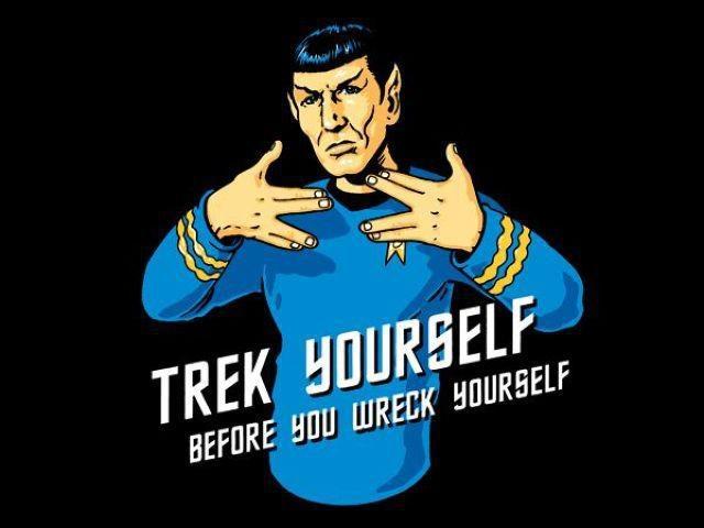 you've been warned.: Words Of Wisdom, Geek, Stuff, Funny Captions, Stars Trek, Startrek, T Shirts, Spock, Star Trek