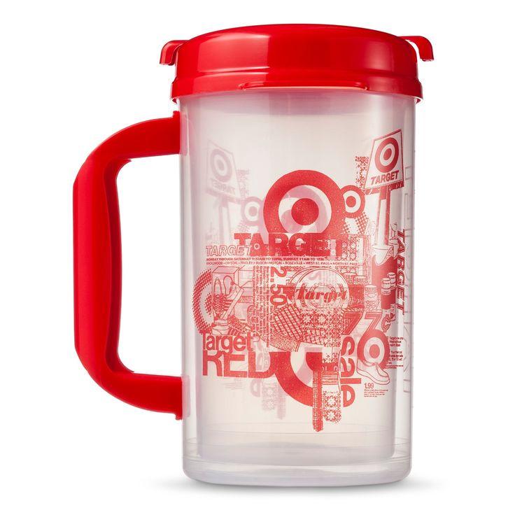 32oz. Clear Plastic Mug (Set of 4)