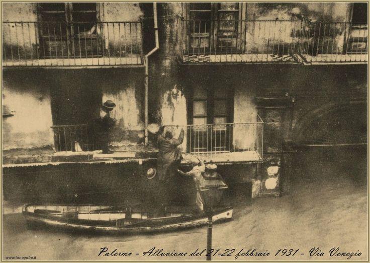Palermo – Alluvione del 21-23 febbraio 1931