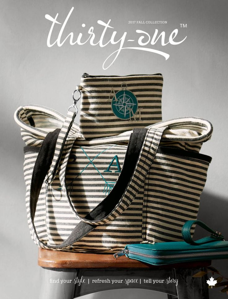 Canadian version of the Thirty One Gifts Fall/Winter 2017-2018 Catalogue. Find your style here: www.organizingenvy.ca