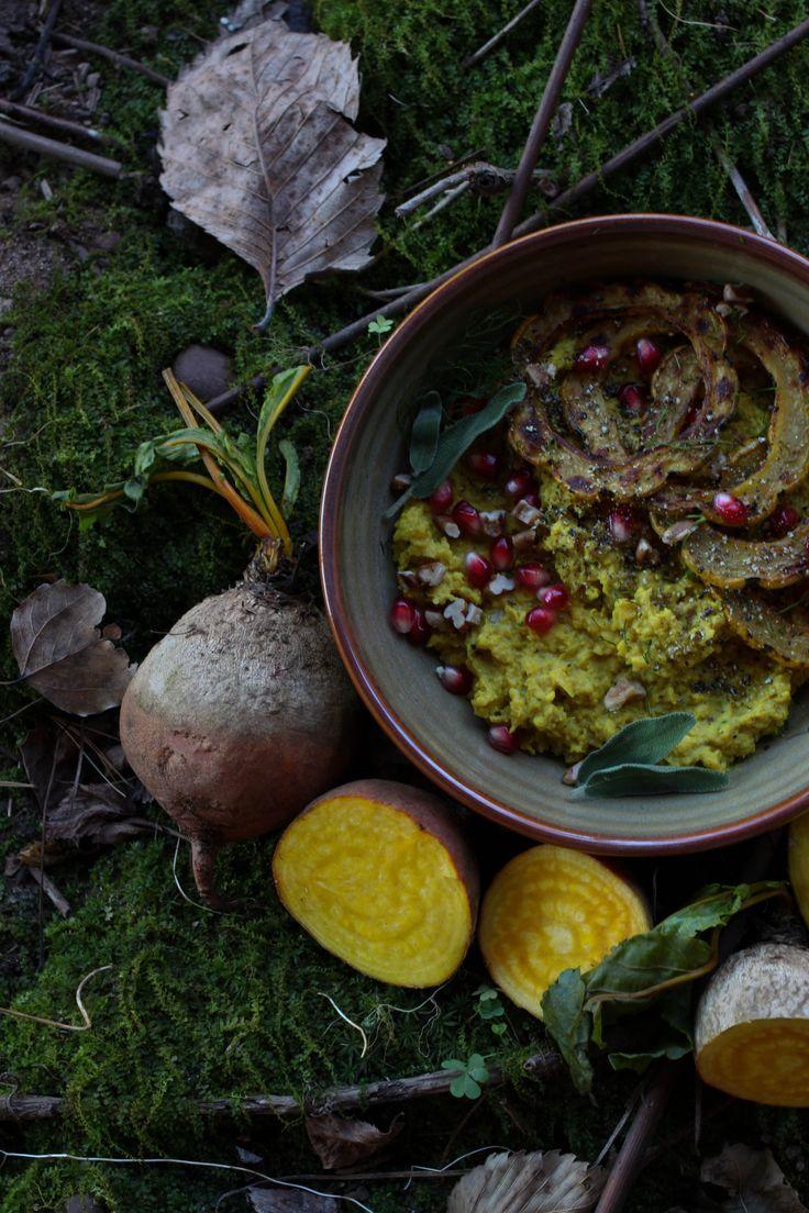 beets nation grains forward golden beet millet mash with roasted ...