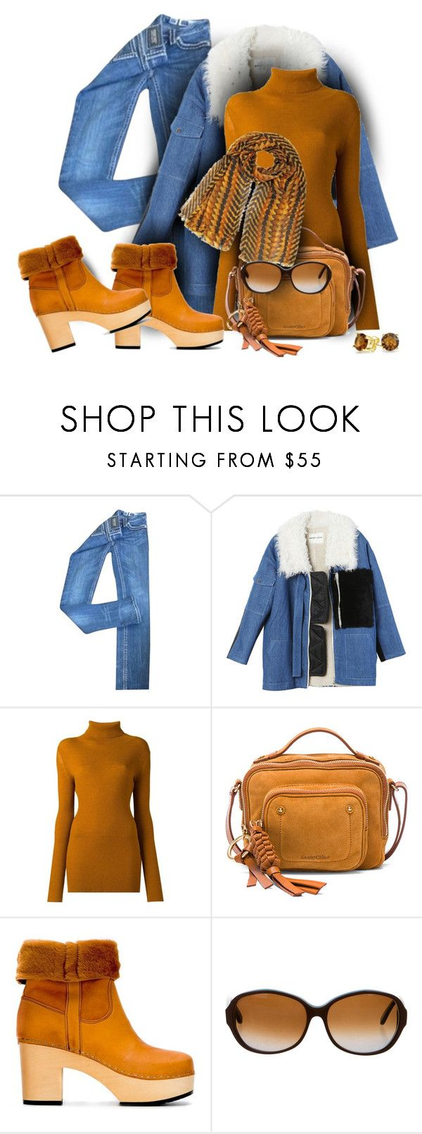 """""""style"""" by sandevapetq ❤ liked on Polyvore featuring Miss Me, Sandy Liang, Ann Demeulemeester, See by Chloé, Swedish Hasbeens, Marni and Bling Jewelry"""