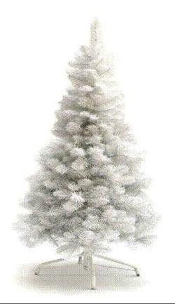 Kunstig Hvid Juletræ 180 cm.