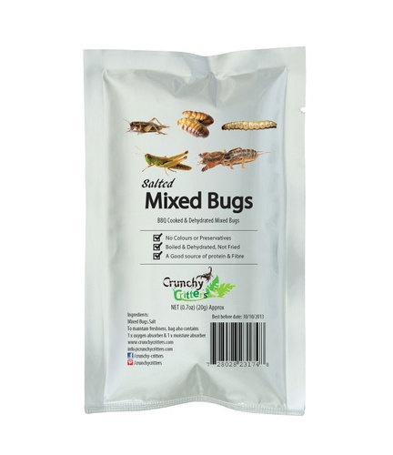 £4.99 | I'm a Celebrity Bush tucker trial style Edible Insects Edible Bugs MIXED BUGS | eBay