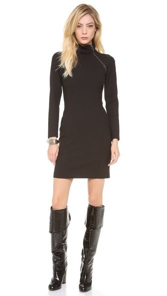 great for fall and winter with a pair of textured tights and boots Theory Danelle Edgewood Wool Dress