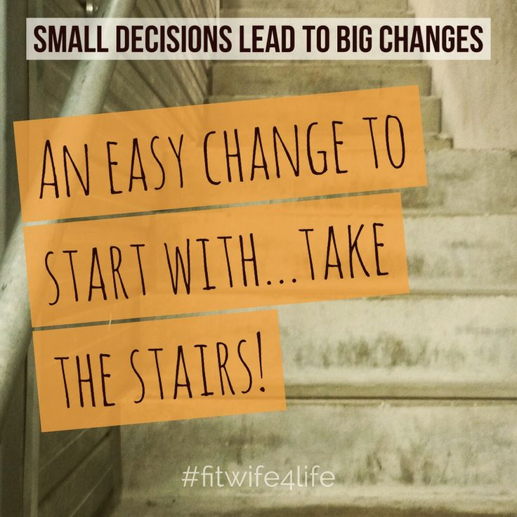 Small decisions lead to big changes. An easy change to start with…take the stairs! #bridaliciousbootcamp #eatplaylove #fitlife #weddingworkout #getfit @fitwife4life