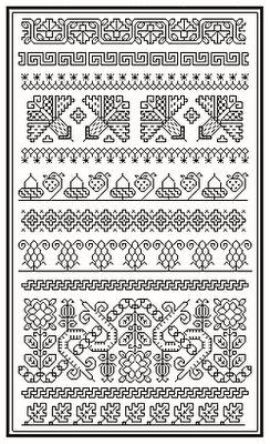 Blackwork patterns  I just LOVE Blackwork. It is so elegant and dainty.