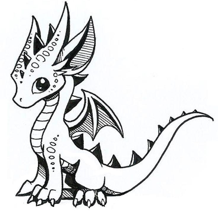 Cute little dragon...