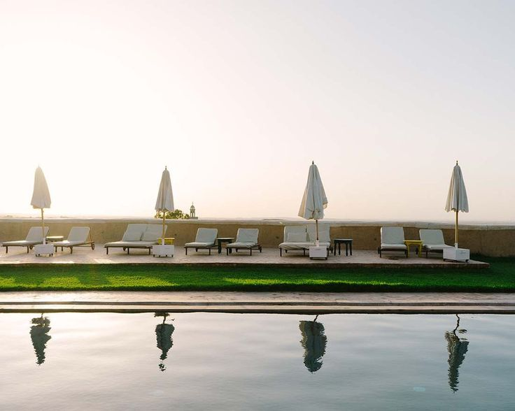 Pool at Tigmi | Field Notes: Marrakech - Insider's Guide to Marrakech, Morocco
