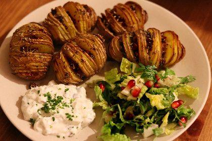 Catharinas Ofenkartoffeln nach Fiefhusener Art mit Kräuterquark 1