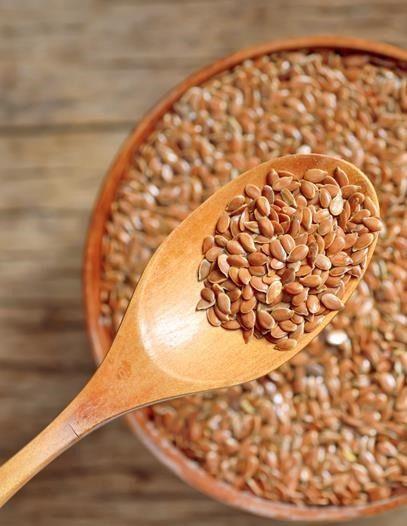 Los beneficios de las semillas de lino para fortalecer el pelo