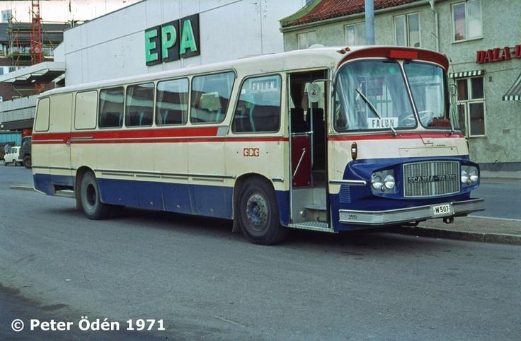 Swedish bus from 1971