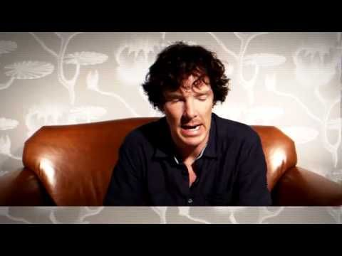 ▶ Benedict Cumberbatch - Here's how Sherlock survived fall Inside TV EW com - YouTube  :D