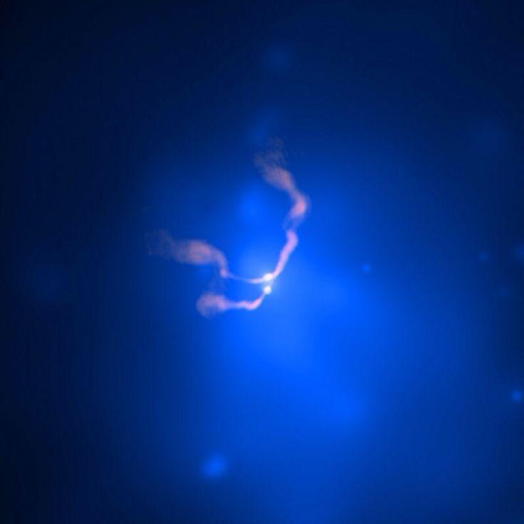 Two Black Holes Dancing in 3C 75