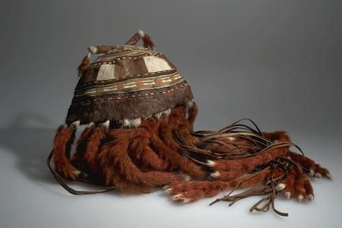 Even shaman's hat/headdress - American Museum of Natural History