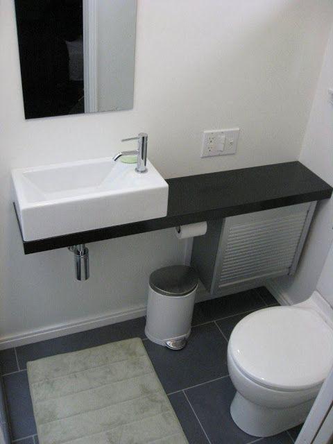 Bath Vanity from Appliance Cabinet - IKEA Hackers - IKEA Hackers