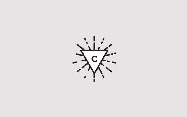 Minimal Triangle Logo Design