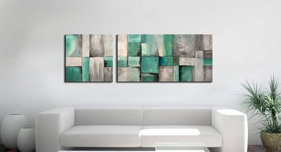 ABSTRACT PAINTING   Modern Home Wall Decor Painting Canvas