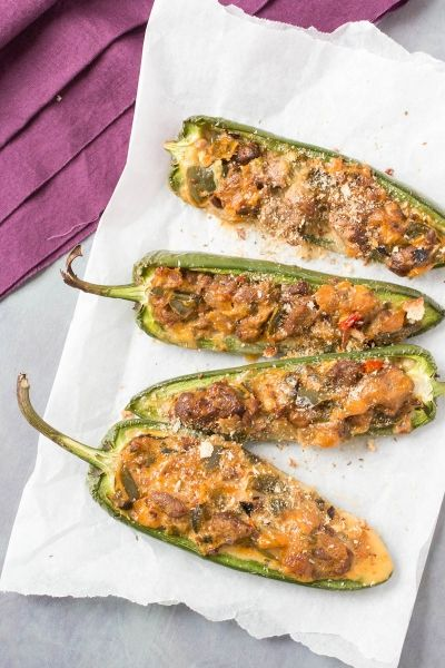 South Philly Cheesesteak Jalapeno Poppers