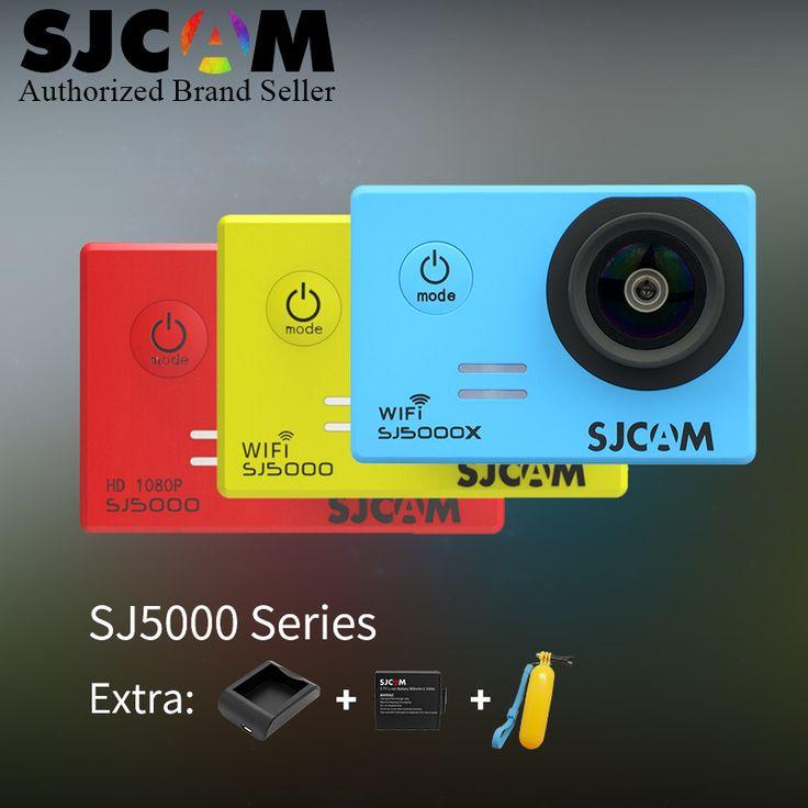 SJCAM SJ5000 Series SJ5000-SJ5000 WiFi-SJ5000X 1080P Action Camera SJ cam DV + Battery+Charger+Float vs sj4000 go pro camera