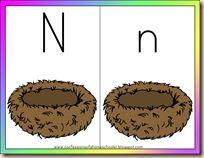 17 best images about letter n on pinterest kindergarten worksheets preschooler crafts and. Black Bedroom Furniture Sets. Home Design Ideas