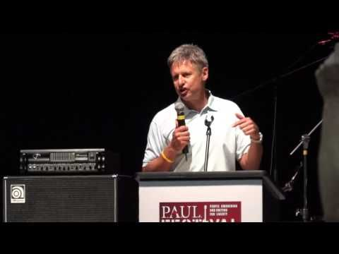 Gary Johnson's Speech At PAUL Fest