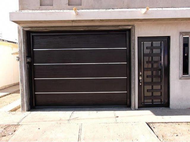 Portones Herreria Y Soldadura Chihuahua Ventanasgrandes Fachadas De Casas Modernas Puertas De Garage Fachada De Casa