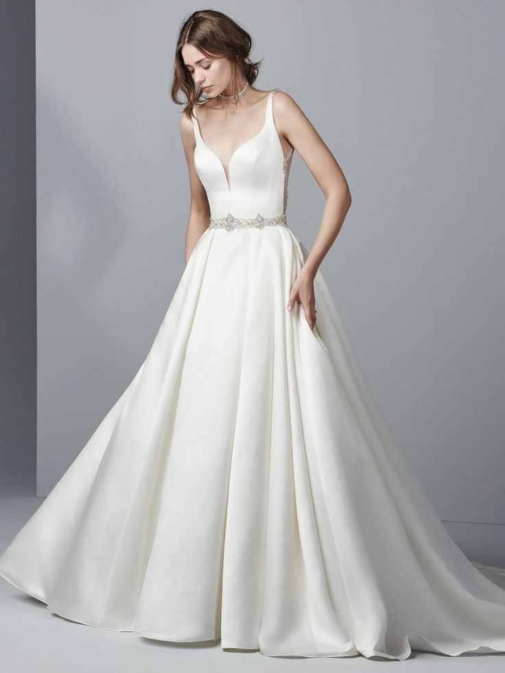 42 best Simple Wedding Dresses images on Pinterest