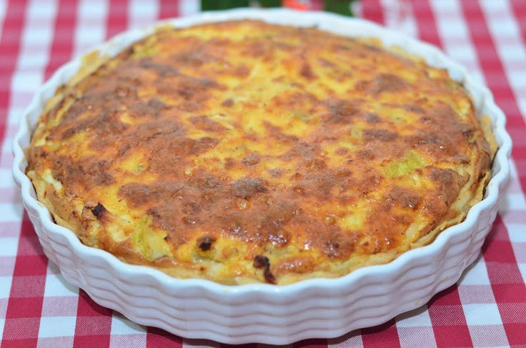 Quiche lorraine with chicken and zucchini — Hello, Kitchen! Easy recipes with step-by-step photos