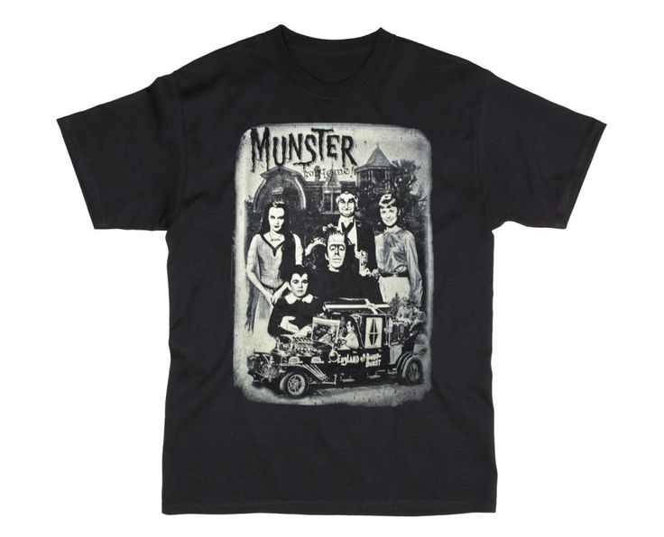 Munsters' Family Portrait Men's Tee