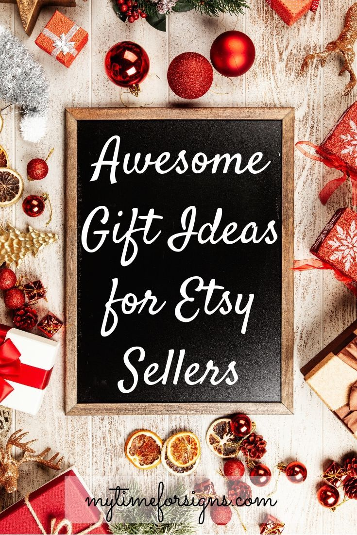 Awesome Gift Ideas For Etsy Sellers My Time For Signs The Blog Mom Holiday Gift Affordable Christmas Holiday Gifts